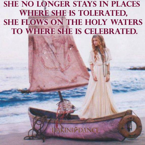 She is Celebrated
