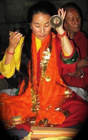 Khandro la an emanation of Yeshe Tsogyal