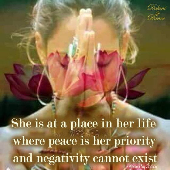 Peace is her priority