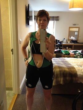 Caroline Bramwell, autor of Loo Rolls to Lycra and Ironman Ostomy Athlete