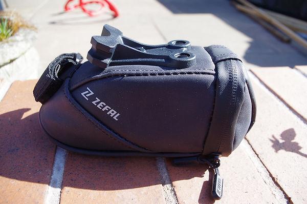 Zefal iron pack saddle seat pack wedge bike road race TT