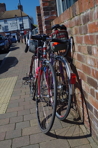 Touring bicycles Upton on Severn Worcestershire