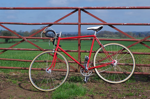 Soma Okami Lite Saddle test review 1947 single speed bike restored eroica