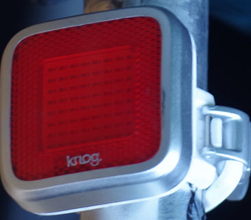 Knog Mob rear bicycle light blinkie