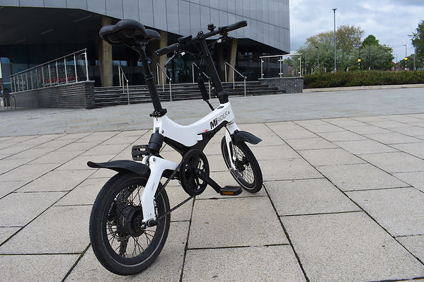 MiRider ebike power assist cycle