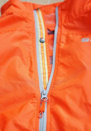 Polaris Challenge Pioneer Windproof cycling jacket zip reflective detail