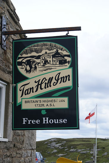 Tan Hill inn Yorkshire Dales England UK highest pub
