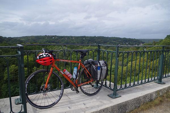 bike bicycl cycle hautes chereuse huate des Seine Fauvettes viaduct