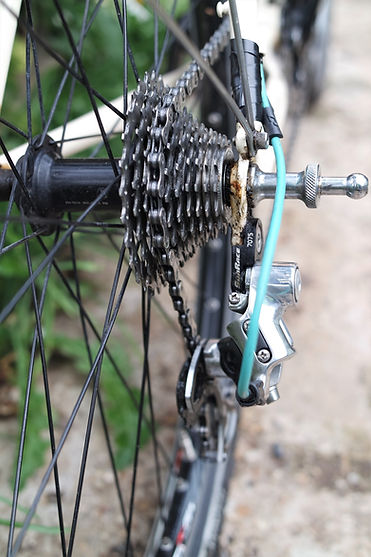 chain cassette hu bike bicycle cycle