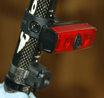 Knog pop Duo rear bicycle light blinkie