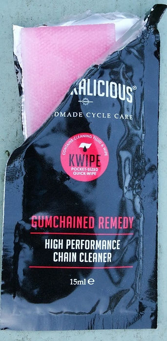Crankalicious Kwipe Gumchained Chain Cleaner Sachet