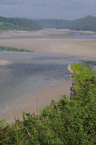 Idling at the Erme estuary, Devon