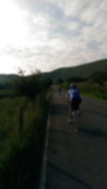 Eroica Britannia cyclists Peak District Climb to Mam Nick