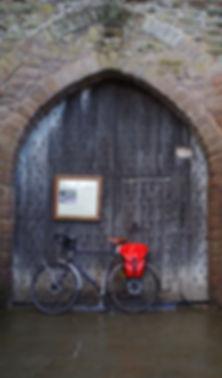 Ludlow Castle Gate Shropshire