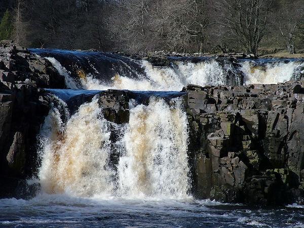Low force Teesdale Tees River Newbiggin Durham