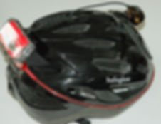 Haloglow helmet with auxilliary light
