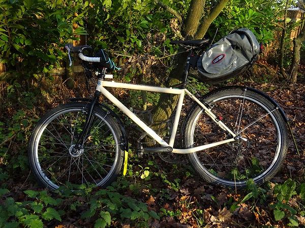 bike bicycle mudflap reflective  countryside