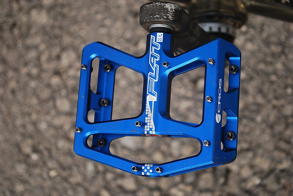 acros a-flat cycle bicycle bike pedal test review