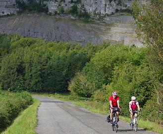 Quiet, open road, morecambe bay cycleway
