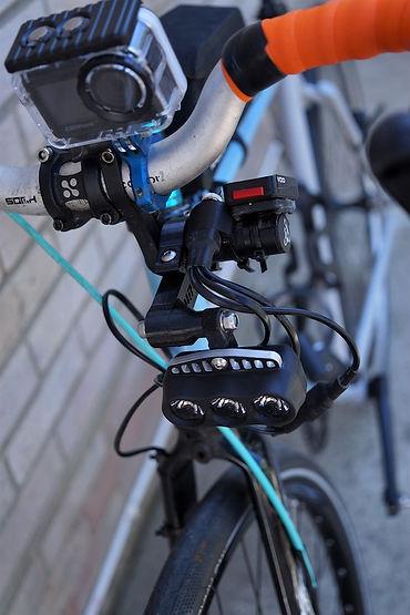 tech camera light bar bicycle cycle bike
