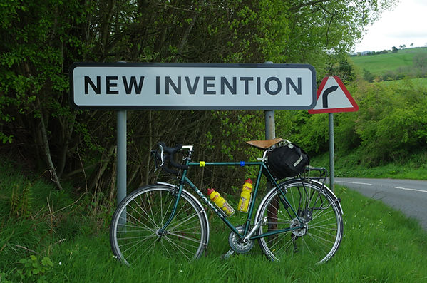 New Invention Shropshire Cycleway
