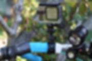 action camera cycle cycling bar mount