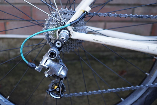cassette chain bike bicycle stays mech derailleur
