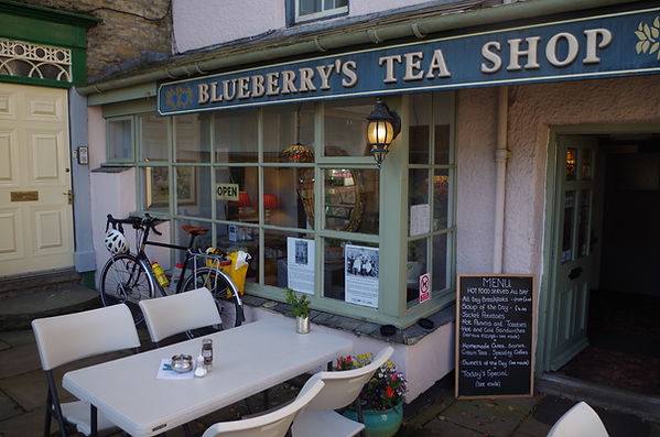 Blueberry's Tea shop Alston Cumbria