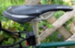 saddle seat post bicycle cycle bike