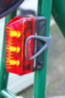 Topeak Redlite bicycle rear light