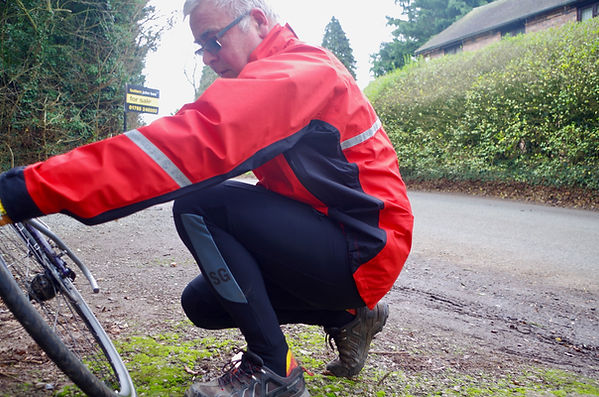 Showers Pass Elite Jacket jersey cycling bike cyclist test review