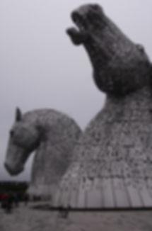 Brompton Kelpies Falkirk Grangemouth Scotland