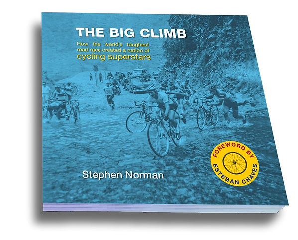 Big climb front straight sticker review book