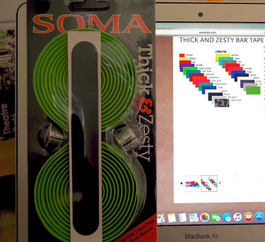 Soma thick & zesty bar tape test review cycling bicycle