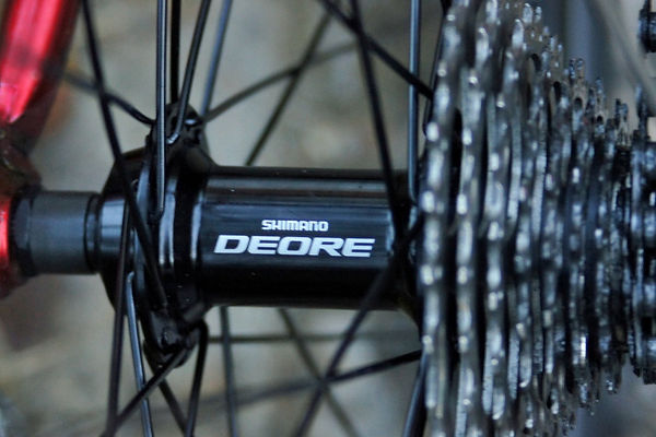 Shimano deore rear hub