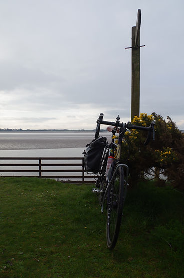 bicycl bike Solway start Scotish C2C