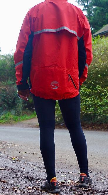Showers Passelite 2.1 jacket waterproof windproof test revew seven day cyclist