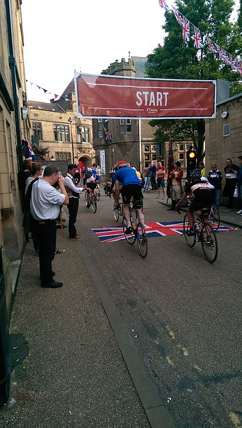 Eroica Britannia Start Bakewell bicycles