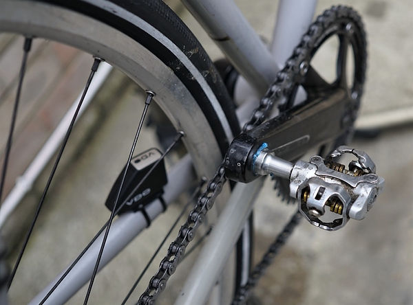 bicycle cycle bike chain pedal ring