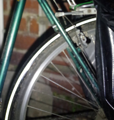 mudguard reflective strip