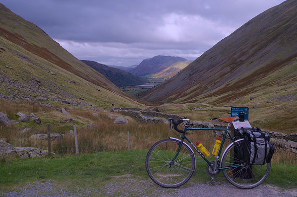 On the way down Kirkstone Pass,