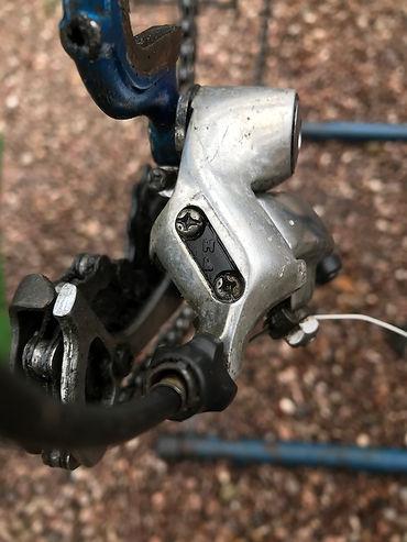 mech rear derailleur bike bicycle cycle