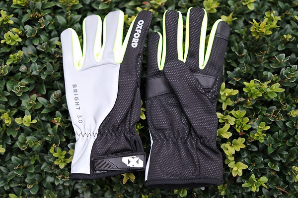 Oxford Bright 3.0 cycling gloves waterproof test review bicycl mitts