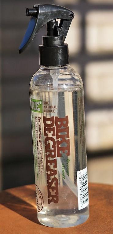 trigger spray bottle bike bicycle degreaser