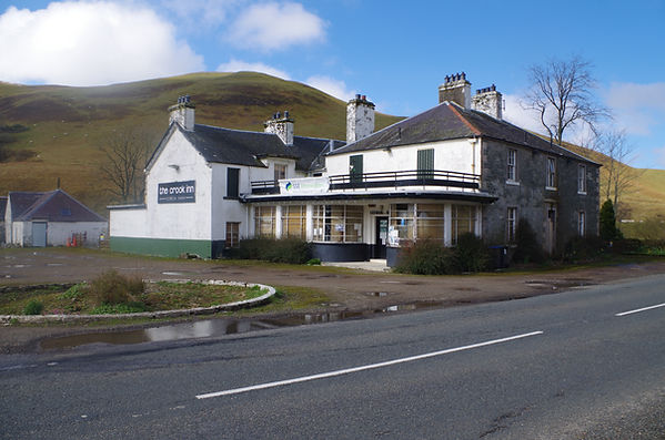 Crook Inn Tweeddale April 2019