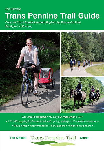 Trans Pennine Trail guide cover Richard Peace