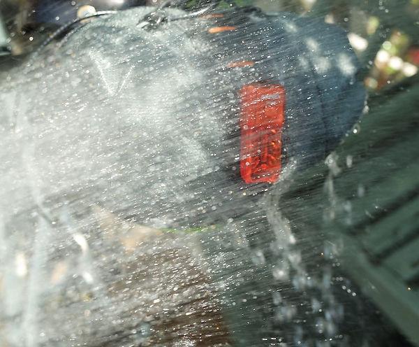 wet water resistant bag luggage bike cycle bag