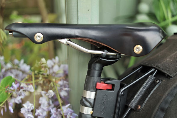 saddle bike bicycle rails seat