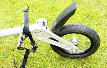 Free Parable T2 Bicycle Trailer for Touring Rear Wheel mudguard
