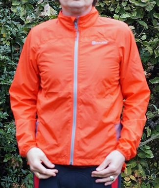 Polaris Challenge Pioneer Windproof cycling jacket front